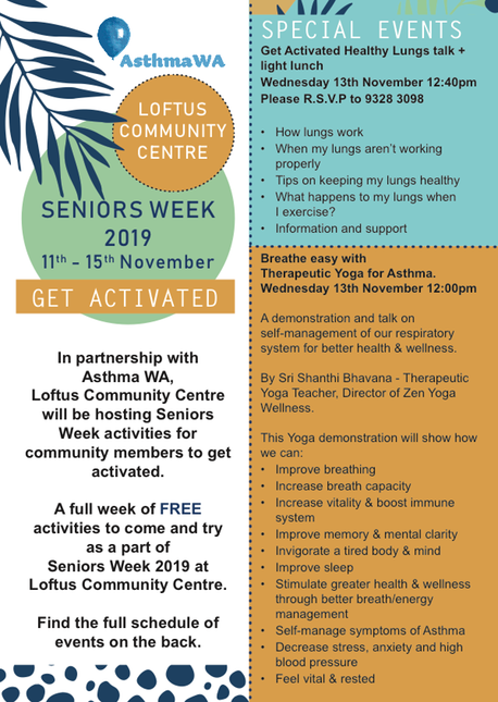 LCC - Seniors Week Flyer